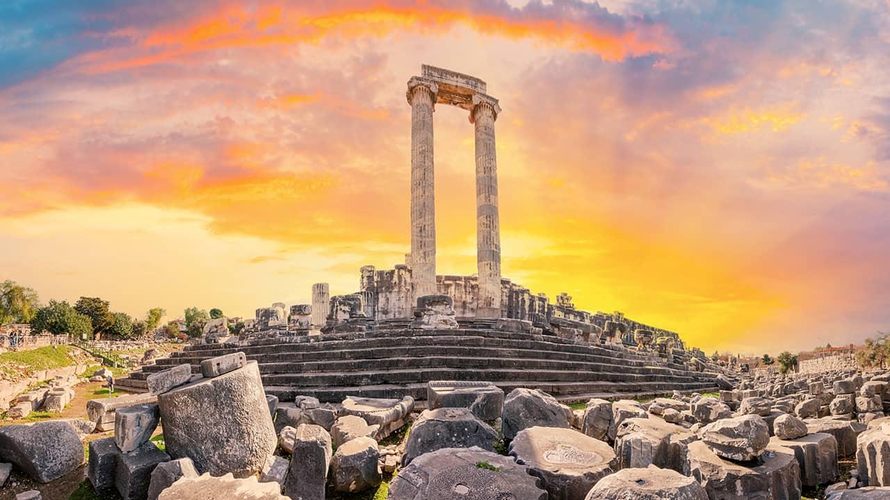 Didim'de bulunan Apollon Tapınağı