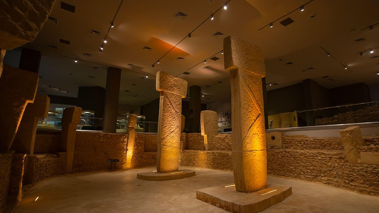 Şanlıurfa Müzesi'nde bulunan Megaalitik Taş Yapılar