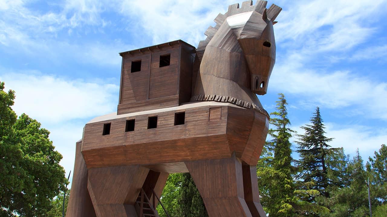 Efsanevi Troya Atı